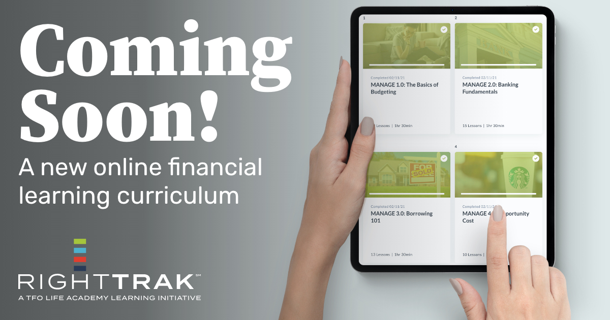 Coming Soon! A new online financial learning curriculum