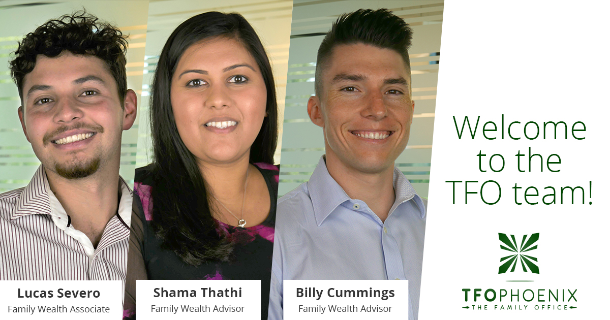 Welcome Lucas, Shama, and Billy