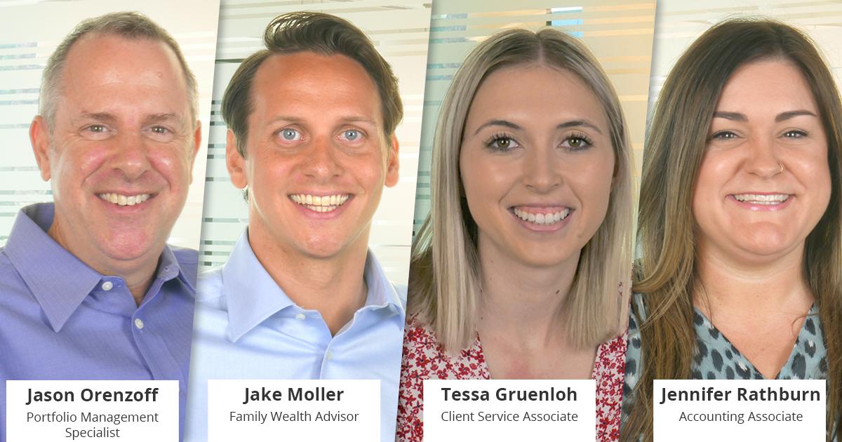 Welcome Jason, Jake, Tessa, and Jennifer